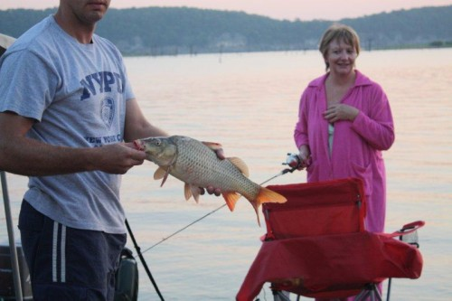 So what if it's a carp - what a blast to catch!