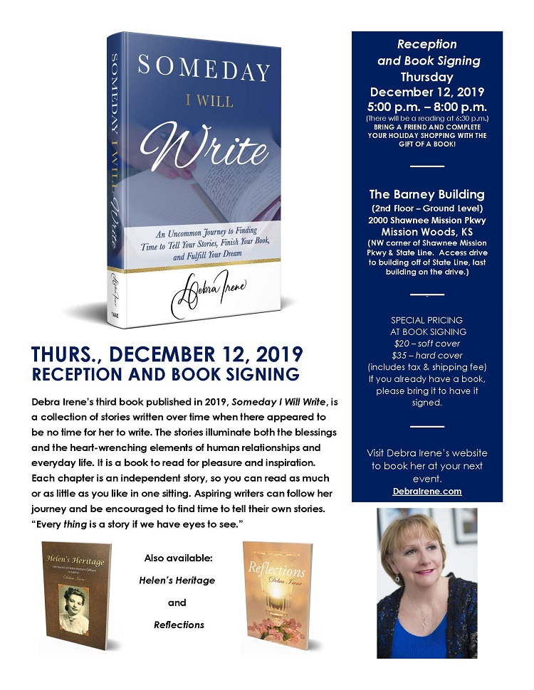 Book Signing Flyer 12-12-19